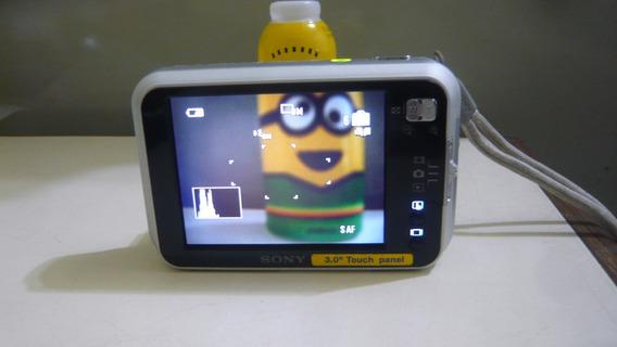 Câmera Fotográfica Digital Sony 8.1 Mega Pixel