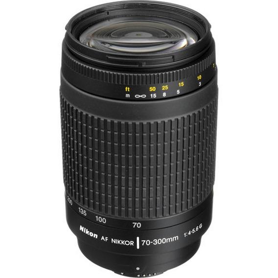 Lente Nikon Af Nikkor 70-300mm F/4-5.6g - Loja Platinu*