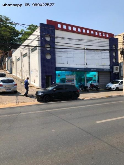 Ponto Comercial Para Venda Em Cuiabá, Prainha, 3 Dormitórios, 1 Suíte, 3 Banheiros, 4 Vagas - 347_1-1330398