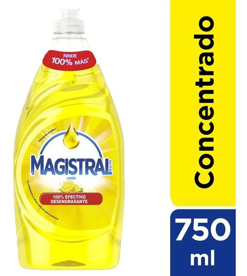 Lavaloza Concentrado Magistral Limon 750 Ml