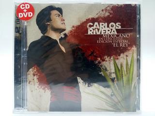 Carlos Rivera - Mexicano En Concierto (cd + Dvd) - Nuevo