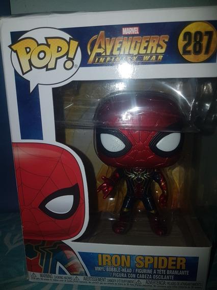 Figura De Ação Homem Aranha Avengers Pop 287
