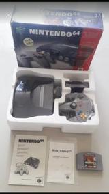 Nintendo 64 Na Caixa Todo Original N64