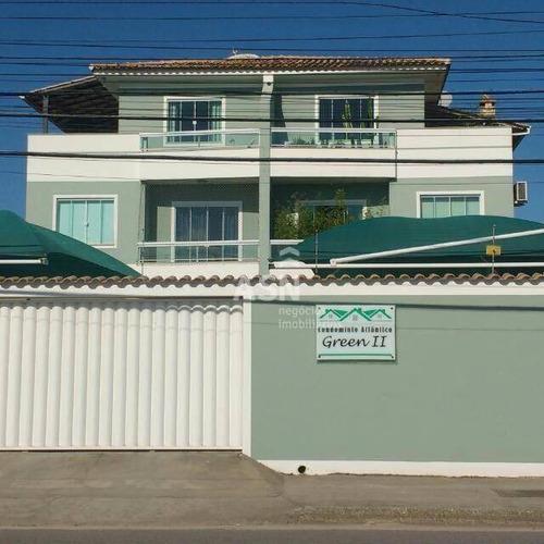 Imagem 1 de 24 de Cobertura Com 3 Dormitórios À Venda, 116 M² Por R$ 380.000,00 - Atlântica - Rio Das Ostras/rj - Co0043
