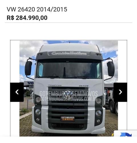Imagem 1 de 11 de Volkswagen 26 420 140mil Km