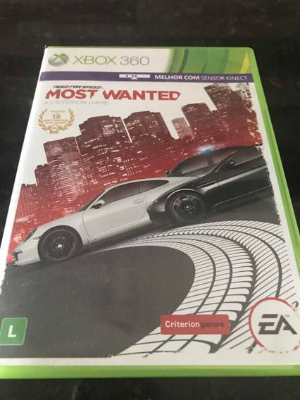 Jogo Xbox 360 Need For Speed Most Wanted Original