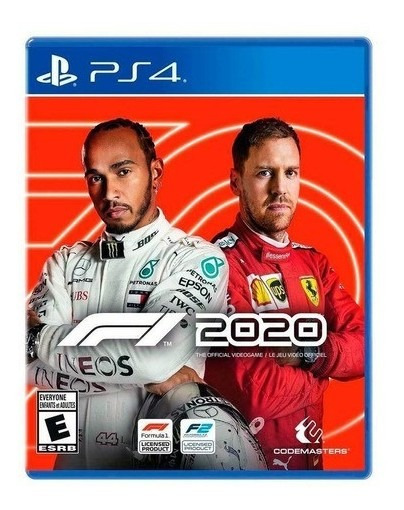 F1 2020 Ps4 Novo Lacrado
