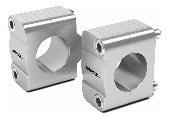 Anclaje Adaptador Clamp Fatbar Wirtz® W3d Wr5 22mm A 28,6mm
