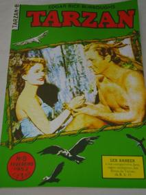 Tarzan Nº 8 De 1952 Ebal Lex Barker Na Capa Veja Descrição