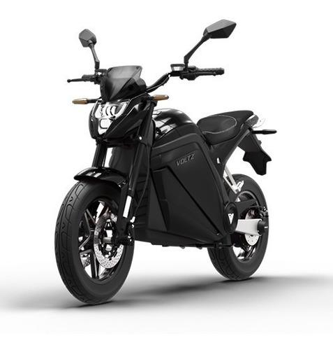 Imagem 1 de 10 de Moto Elétrica Evs Voltz Motors Preta - Uma Bateria