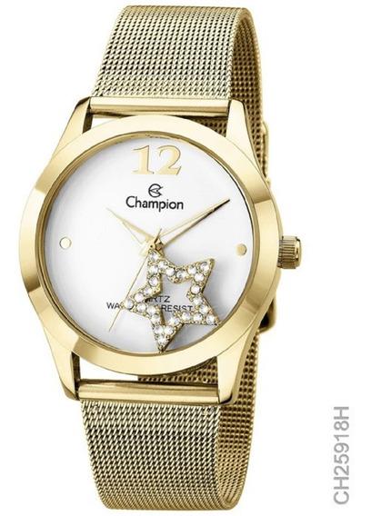 Relógio Analógico Feminino Social Champion Ch25918h