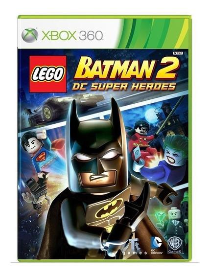 Lego Batman 2 Dc Super Heroes - Xbox 360 - Usado - Original