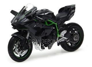 Kawasaki Ninja H2 R Maisto 1:12 Preto