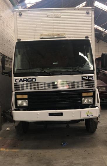 Ford Cargo 1215 Baú Ano 1998