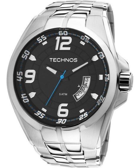 Relógio Technos 2115ksw/1a Racer Masculino Prata