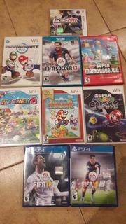 Videojuegos Wii Y Ps4