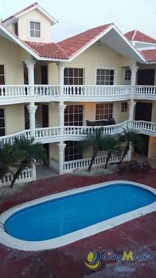 Comodo Apartamento Amueblado De 2 Hab/2baños En Bávaro