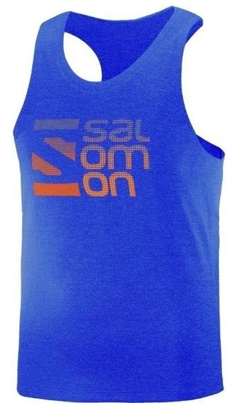 Musculosa Hombre - Salomon - Casual - Dot Ultra Tank