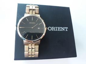 Relógio Orient Safira Dourado Mgsss04