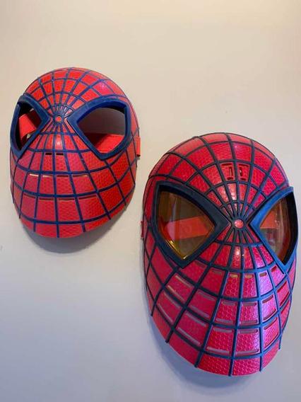 Kit Com 2 Máscaras Homem Aranha