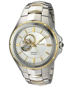 Relógio Seiko Coutura Automático Prata/dourado/branco Heart