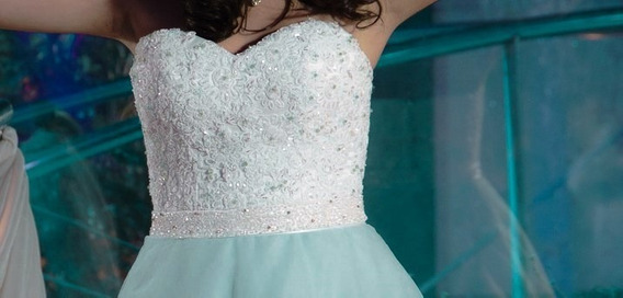 Vestido De 15 Años ¡impecable! (largo,corto,corset + Enagua)