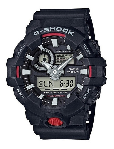 Relógio Casio Masculino G-shock Ga-700-1adr