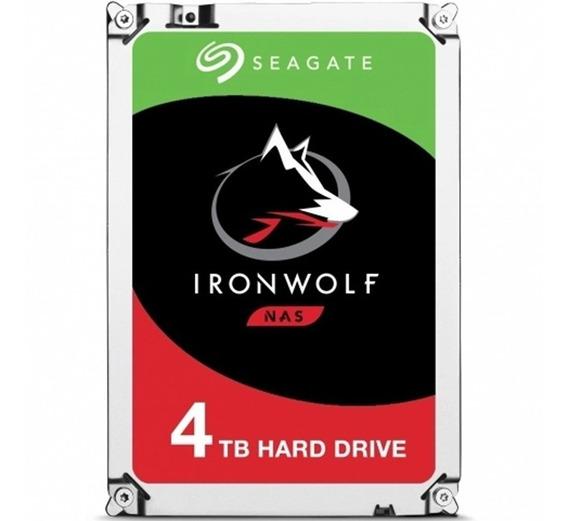 Disco Rigido Nas Seagate Ironwolf 4tb Sata3 64mb 3,5