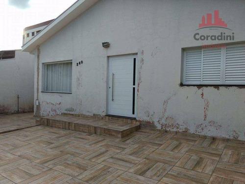 Imagem 1 de 15 de Casa Residencial À Venda, Campo Limpo, Americana. - Ca1180