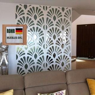 Biombo Divisor Separador De Ambientes Paneles Decorativos P