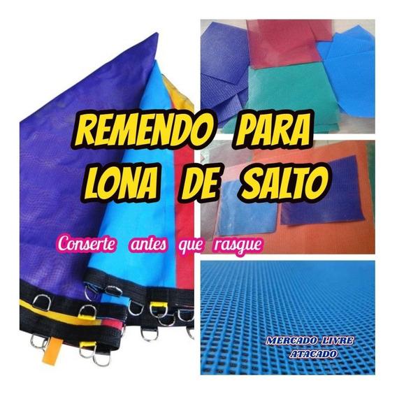 Reparo Para Lona De Salto De Cama Elastica Kit C/3 Remendo