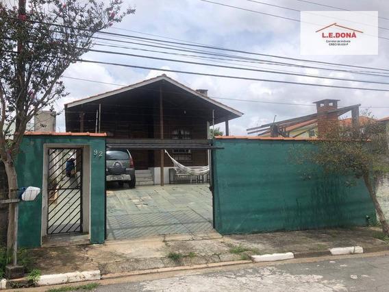 Casa Com 3 Dormitórios À Venda, 107 M² Por R$ 430.000,00 - Adalgisa - Osasco/sp - Ca0307