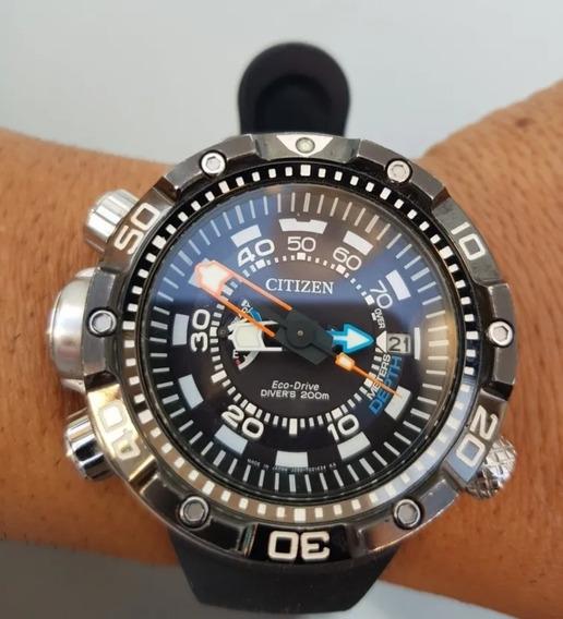 Relógio Citizen Aqualand Bn2029 05e Usado Apenas Uma Vez