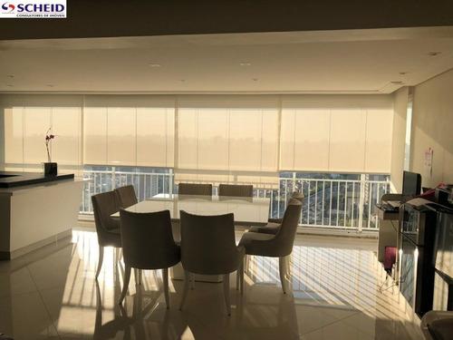 Imagem 1 de 15 de Apartamento De 147m² Com Três Suítes- Vila Mascote - Mc6215