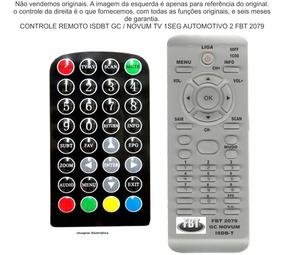Gc Novum Isdb-t Tv Digital Automotiva Fbt 2079
