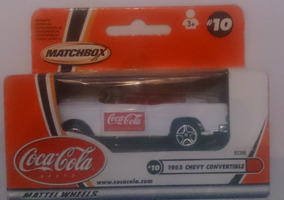 Matchbox 2002 Coca Cola 1955 Chevy Convertible Nuevo