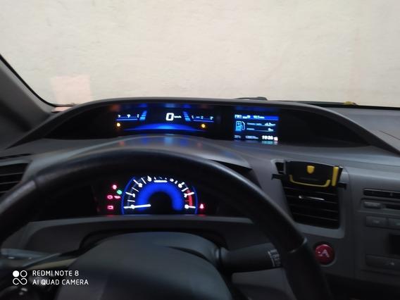 Honda Civic 1.8 Lxl Flex 4p 2012