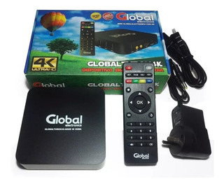 Conversor Smart Tv Android Tv Box Quad Core 4k Global
