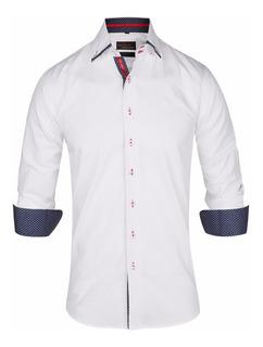 Camisa Entallada Casual Vestir Z503 - Quality Import Usa