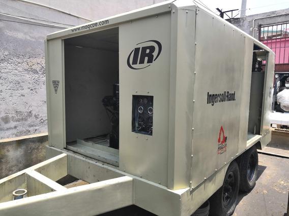 Compresor 750pcm Ingersollrand Motor Cummins Listo P/trabaja