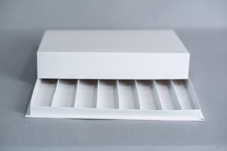 Caja Para Masas 1kg C/ 8 Divisiones (4,2cm) 33,5x25,5x6cm (x50 U.) Sushi Saladitos Catering - 041b8 Bauletto