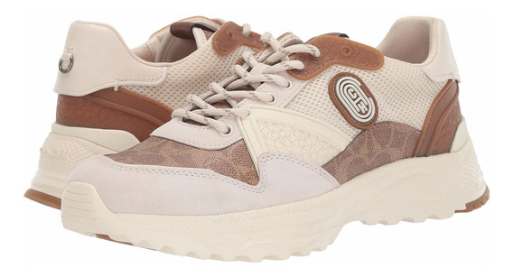 Tenis Hombre Coach C143 Mixed Material With Coach Pa N-1618