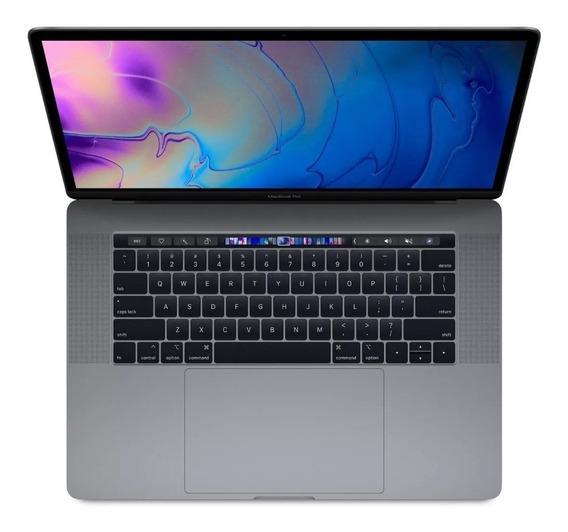Macbook Pro Touchbar 15 I7 2.6 16gb 2018 + Mouse E Teclado