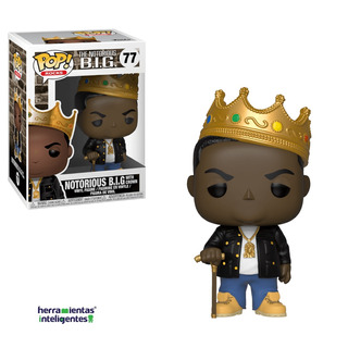 Notorious Big With Crown Funko Pop Music