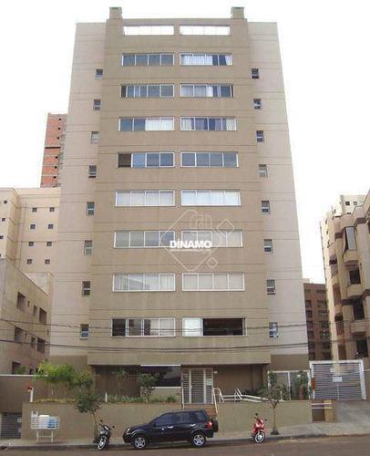 Apartamento Com 2 Dormitórios À Venda, Nova Aliança - Ribeirão Preto/sp - Ap3427