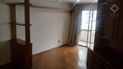 Imagem 1 de 30 de Apartamento Para Compra Com 2 Quartos E 1 Vaga Localizado Em Moema Pássaros - Ap52317