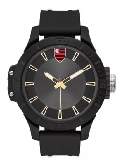 Relógio Technos Masculino Flamengo Fla2035mnl/8p Preto