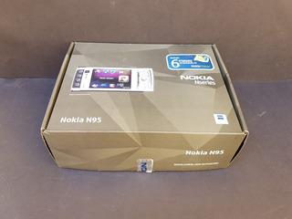 Celular Nokia N95 Com Caixa Original E Acessórios
