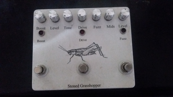 Pedal Wilson Stoned Grasshopper Booster + Drive +fuzz