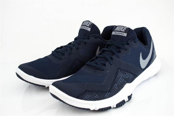 Tenis Nike Flex Control Ii Caballero Gris Blanco